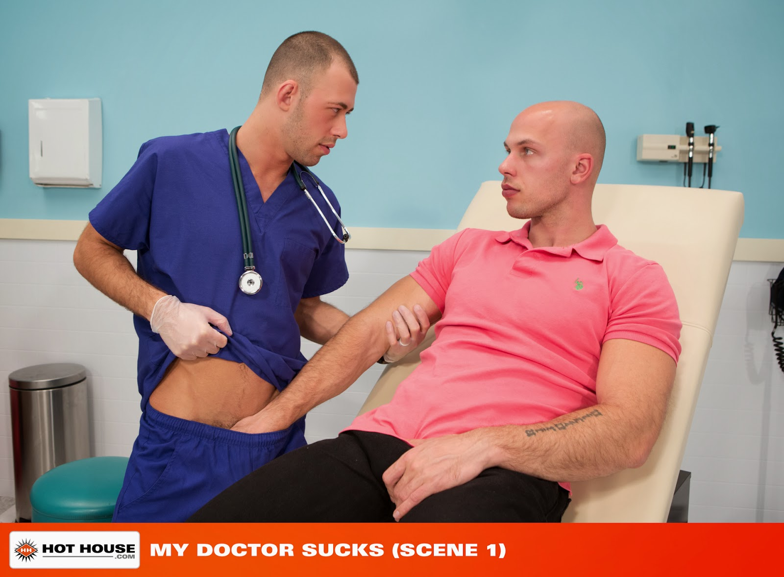 Gay Doctor And Patient